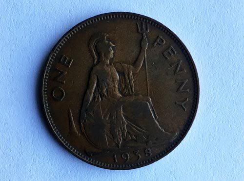 Label 3: Lucky Coronation Penny