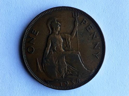 Lucky Coronation Penny